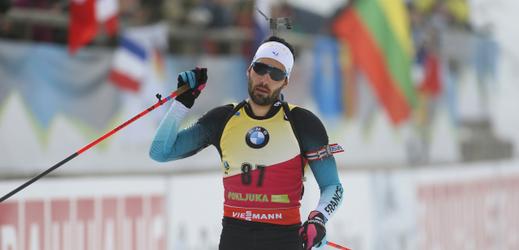 Martin Fourcade vykročil za osmým titulem mistra světa.