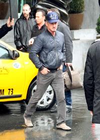 Sean Penn je v Turecku.