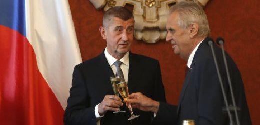 Andrej Babiš (vlevo) a Miloš Zeman.