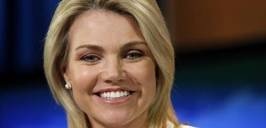Heather Nauertová je od roku 2017 tiskovou mluvčí ministerstva zahraničí USA.