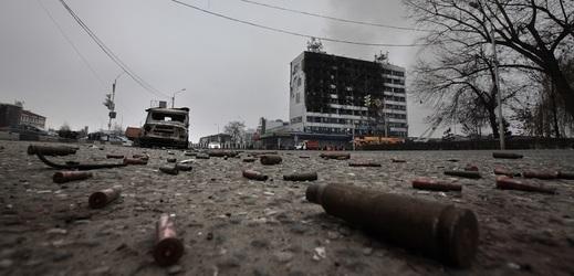 Čečenské hlavní město Groznyj.
