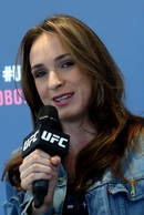 Ženská hvězda UFC Lucie Pudilová.