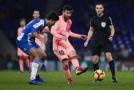 Lionel Messi se dvakrát parádně trefil z přímého kopu.