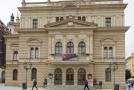 Budova Slezského divadla v Opavě.