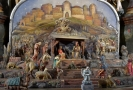 Historický vyřezávaný betlém je nyní k vidění v obci Chlum