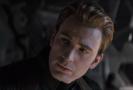 Chris Evans jako Captain America v traileru na Avengers: Endgame.