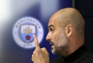 Pep Guardiola hovořil během tiskové konference na téma rasismu.