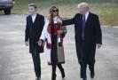 Donald Trump s manželkou Melanií a synem Baronem.