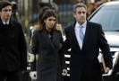 Michael Cohen se svou dcerou Samanthou na cestě k soudu.