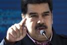 Venezuelský socialistický prezident Nicolás Maduro.