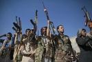 Jemenští povstalci oslavují dosažení dohody o příměří.