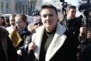 Ukrajinská poslankyně Nadija Savčenková.