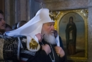 Moskevský patriarcha Kirill.