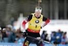Johannes Thingnes Bö vyhrál potřetí za sebou. Upevnil tak své vedení.