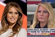 Z Melanie Trump je blondýna! A internet si z ní utahuje