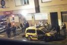 Francouzská policie na místě, kde byl zastřelen útočník z vánočních trhů.