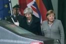 Britská premiérka Theresa Mayová a německá kancléřka Angela Merkelová.