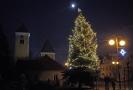Během vánočních svátků teplota mimo horské oblasti pod nulu pravděpodobně neklesne.
