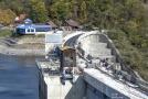 Vranovská přehrada se opravuje od roku 2016.