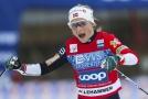 Norská lyžařka Therese Johaugová dál vládne Světovému poháru, v Davosu dnes byla nejrychlejší na desetikilometrové trati volnou technikou.