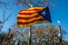 Vlajka Katalánska.