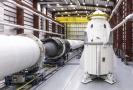 Vesmírný modul společnosti SpaceX pro přepravu lidí.