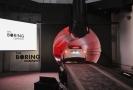 Testovací tunel pro vysokorychlostní přepravu osob.