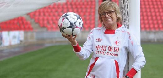 Jaroslava Rinnerová-Poláčková dělá sportovní manažerku ve Slavii již patnáct let.