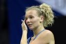 Kateřina Siniaková po úspěšné kvalifikaci skončila hned v prvním kole.