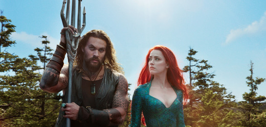 Snímek z filmu Aquaman.