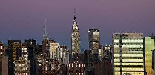 Mrakodrap Chrysler Building je známý třeba z filmu Spider-man.
