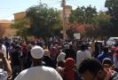 Protivládní protesty v Súdánu.