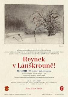 Muzeum v Lanškrouně na Orlickoústecku v sobotu 19. ledna zahájí výstavu grafik Bohuslava Reynka.