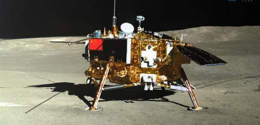 Přistání sondy Čchang-e 4.