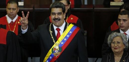 Inaugurace venezuelského prezidenta Nicoláse Madura.