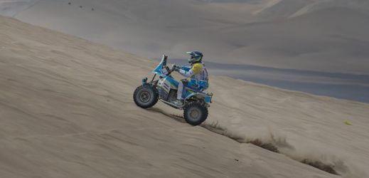 Tomáš Kubiena na Rallye Dakar 2018.