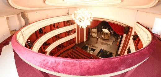 Interiér Moravského divadla.