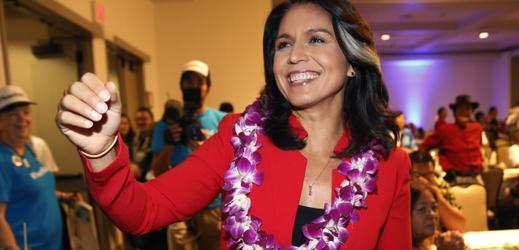Členka amerického Kongresu za stát Havaj Tulsi Gabbardová.