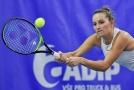 Markéta Vondroušová zvládla svůj první zápas sezony.