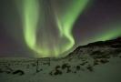 Island poskytuje ideální podmínky k pozorování polární záře.