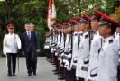Premiér Andrej Babiš na návštěvě v Singapuru.