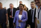 Cécile Kyengeová, nyní poslankyně Evropského parlamentu.