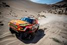 Posádka Martina Prokopa na Rallye Dakar.