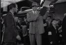 Snímek z filmu Schindlerův seznam.