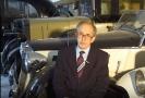 Emil Příhoda, původní profesí automechanik, který se své sběratelské vášni věnuje již skoro šest desítek let.
