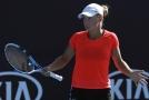 Ruská tenistka Julia Putincevová na Australian Open.
