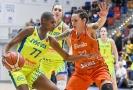 Basketbalistky ZVVZ USK Praha prohrály v 9. kole Evropské ligy se Schiem.