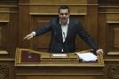 Řecký premiér  Alexise Tsiprase.