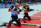 Sprint v Rakousku ovládli norští biatlonoví bratři.