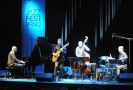 Koncert festivalu JazzFest Brno. Kvarteto španělského kytaristy Alberta Villy.
